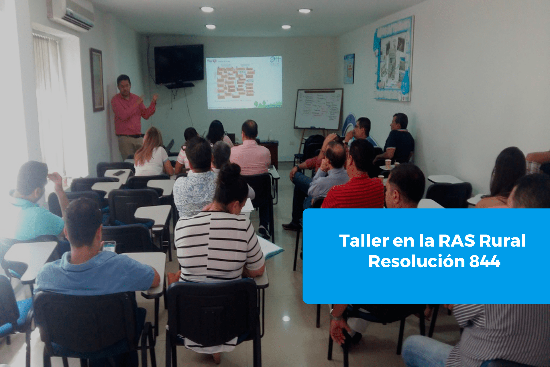 Taller en la RAS Rural – Resolución 844 de 2018